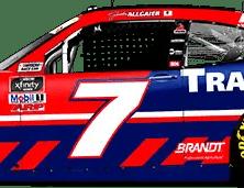 Justin Allgaier's No. 7 Trademark Camaro (PC : Ryan Williams)