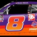 Daniel Hemric's No. 8 Poppy Bank / John Andretti Throwback (PC : Ryan Williams)