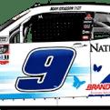 Noah Gragson's No. 9 Nationwide Children's Foundation Camaro (PC : Ryan Williams)