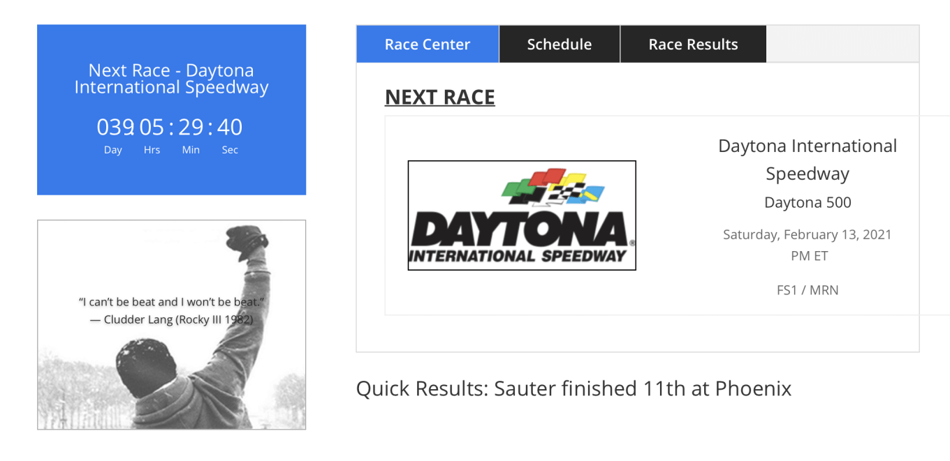 Leaked Image Suggests Johnny Sauter Making 2021 Daytona 500 Attempt With Ny Racing Tobychristie Com