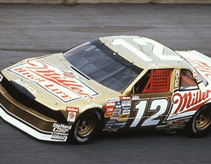 The 1988 Miller High Life Buick for Bobby Allison (PC : Getty Images