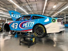 Richard Petty Motorsports Next Gen that Erik Jones will drive at Charlotte Roval test. Photo Credit: Richard Petty Motorsports on Twitter.