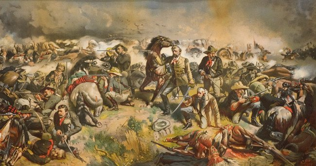 Custer, Sitting Bull, Toby Elwin, blog