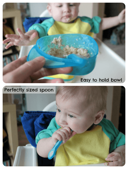 Weaning Set in use