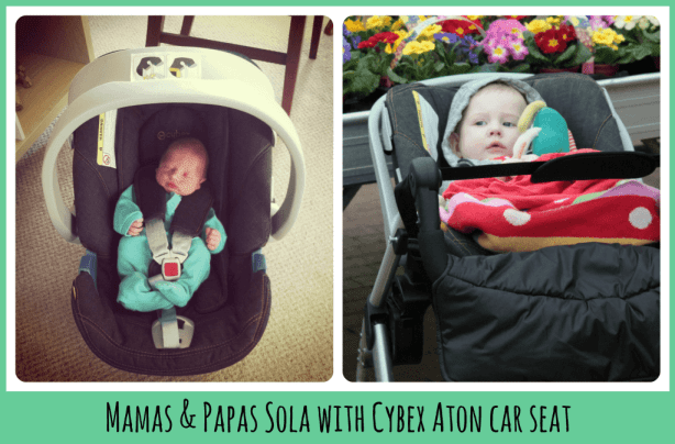 Mamas & Papas Sola with carseat