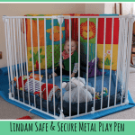 Review: Lindam Safe & Secure Metal Play Pen