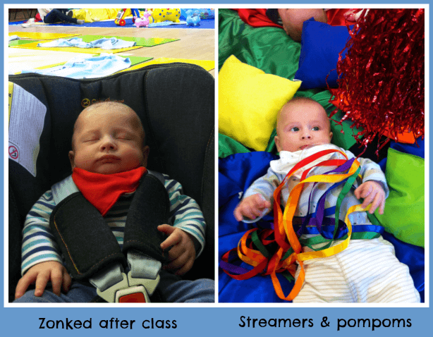 Early days at baby sensory