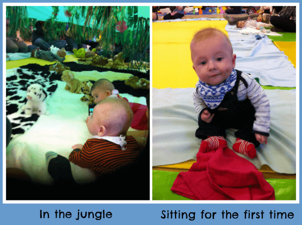 Getting bigger at baby sensory