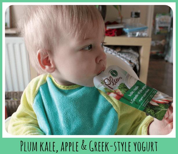 kale, apple and greek-style yogurt