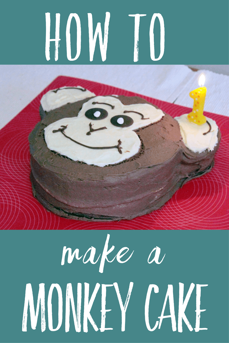 How to make a monkey cake Toby Goes Bananas