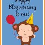 Happy Blogiversary to me!