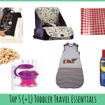 Top 5 toddler travel essentials