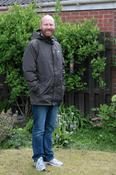 Trespass Edwin men's waterproof jacket