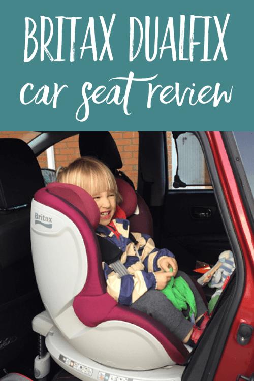 Britax Dualfix car seat review