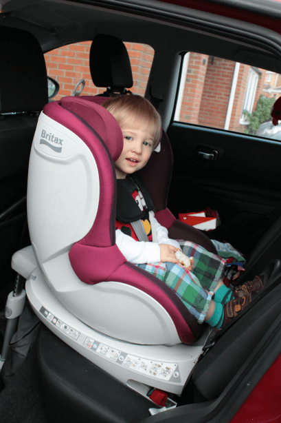 Britax Dualfix at 19 months