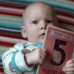 Gabriel is five months old