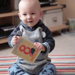 Gabriel is eight months old