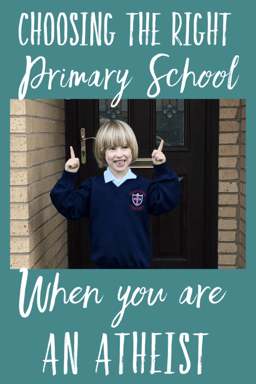 Lots of things can influence your choice of primary school, and religion may be one of them. We found it difficult to choose a primary school as atheists when most of our options were church schools. Find out what we and other parents think about church schools, especially when you are an atheist.