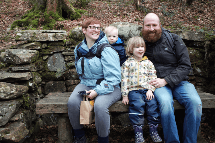 Family day out at Grizedale Forest