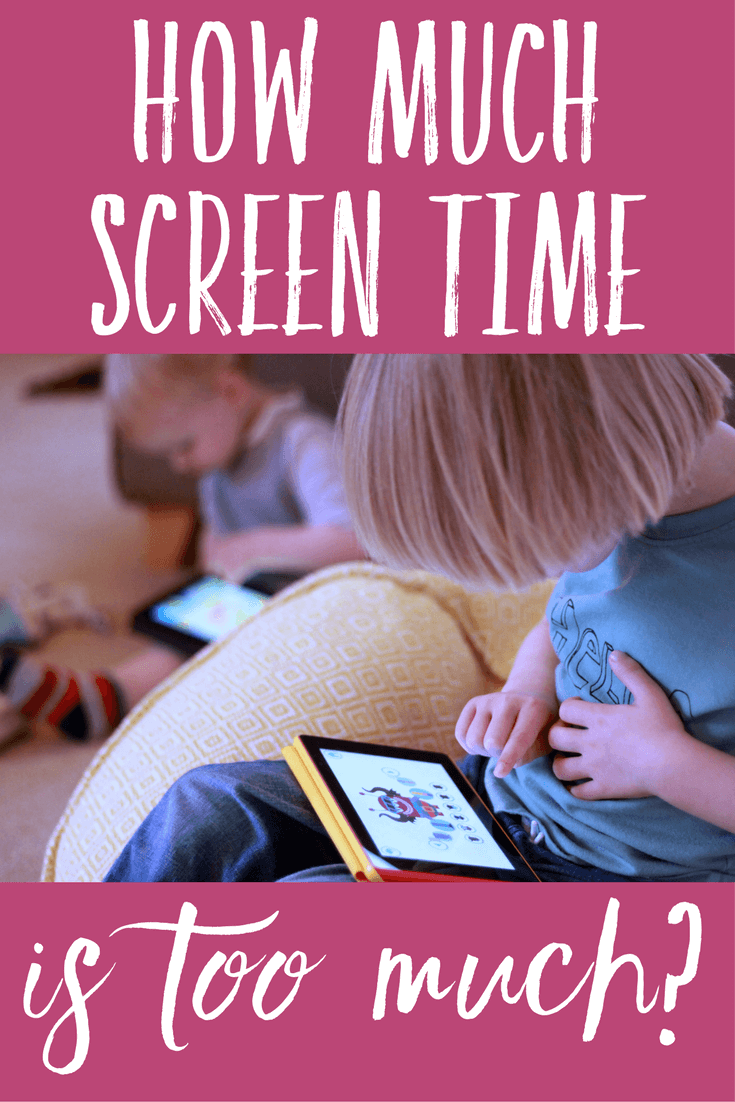 How much screen time is too much? Do you limit screen time for your toddlers and preschoolers?