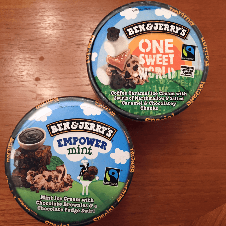 Ben & Jerry's favourite flavours