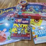 Kids Songs CD & CBeebies bundle // Review & Giveaway