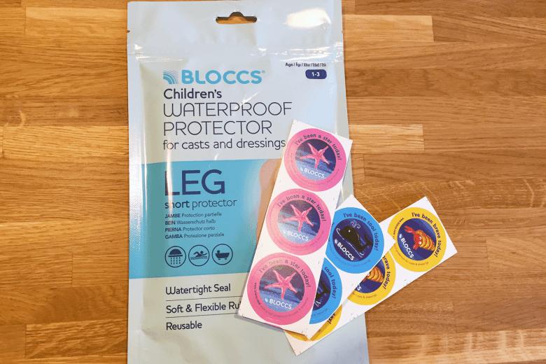 Bloccs waterproof cast protector