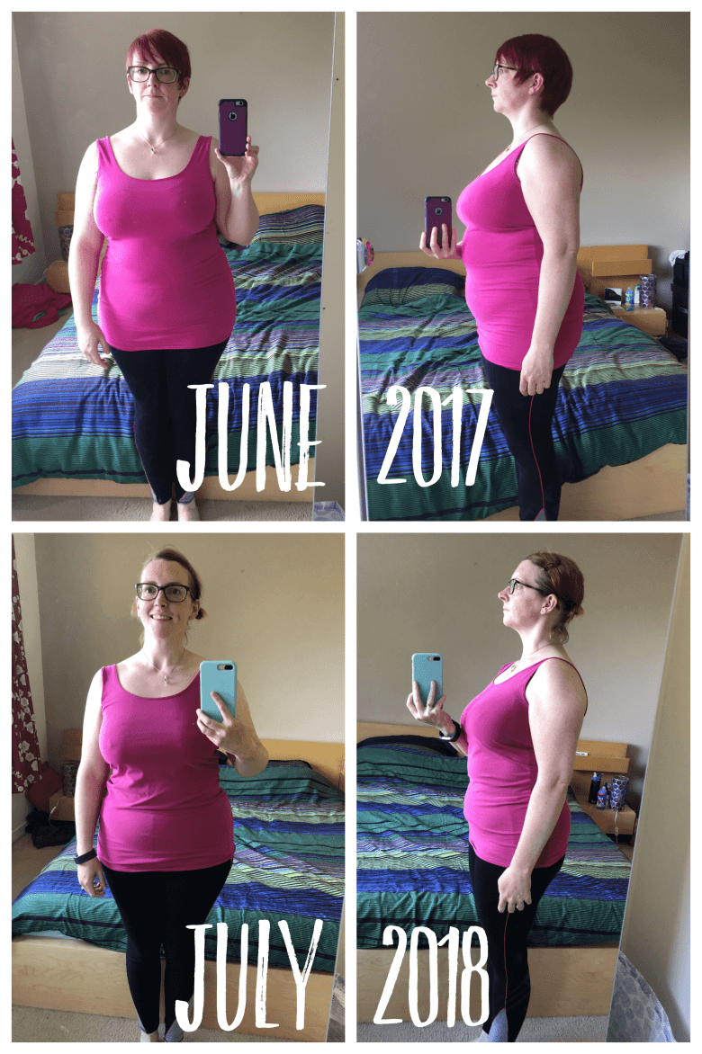 Fit by 40 - 12 month progress