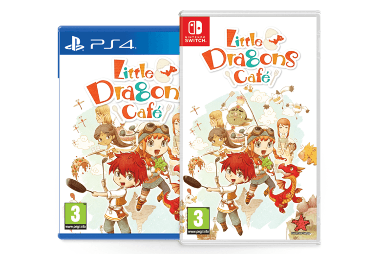 Little Dragons Cafe on PS4 and Nintendo Switch