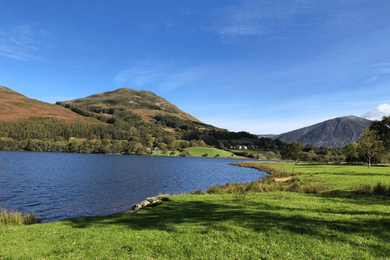 A beautiful walk round Loweswater in the Lake District