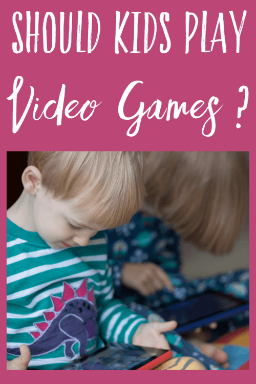How much screen time is too much? Should kids play video games at all? I'm looking a the pros and cons of children playing video games.