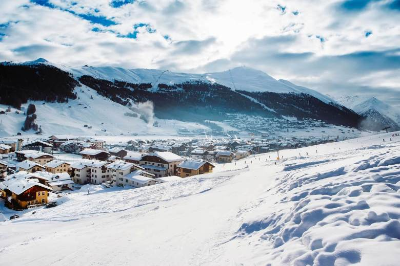Skiing holidays in the Alps