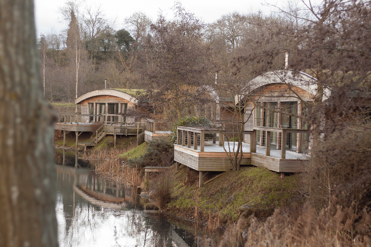 Lodges on the lake