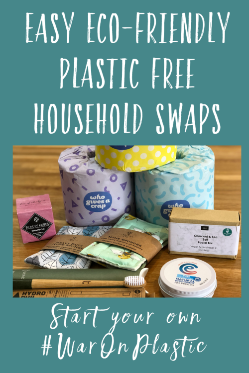 Easy Eco-Friendly Plastic Free household Swaps