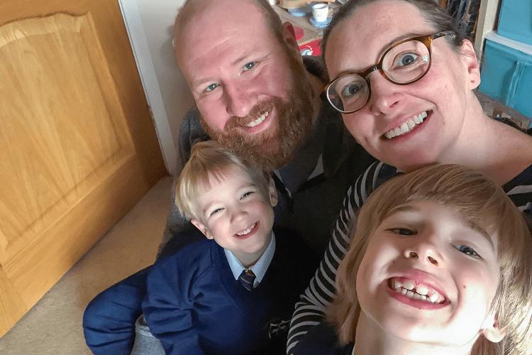 A family selfie - Me & Mine September 2019