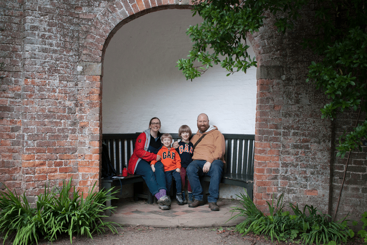 Family picture at Erddig National Trust