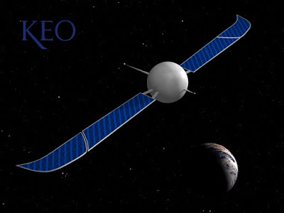 KEO – Space time capsule to the future.