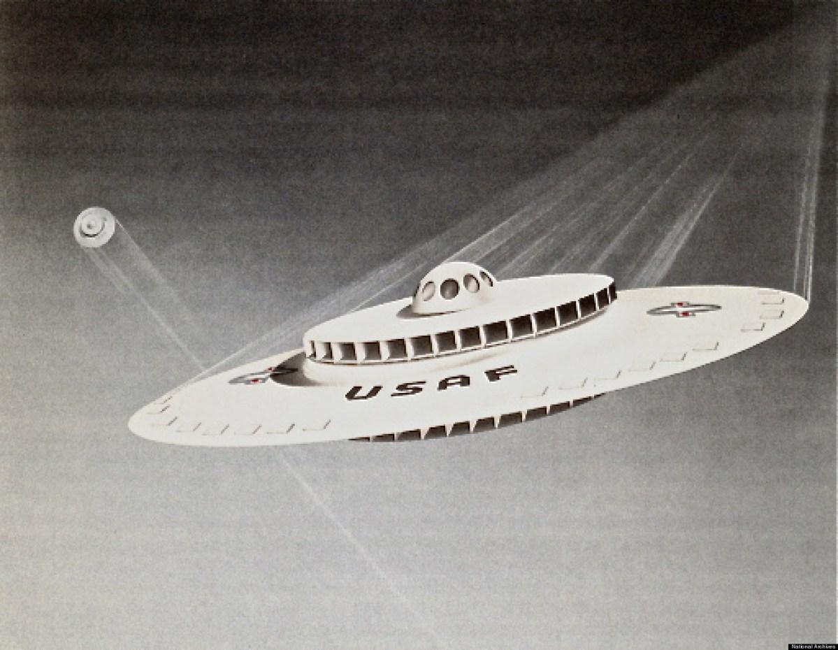 Declassified 1950s Flying Saucer vs WEAV the 2010s update