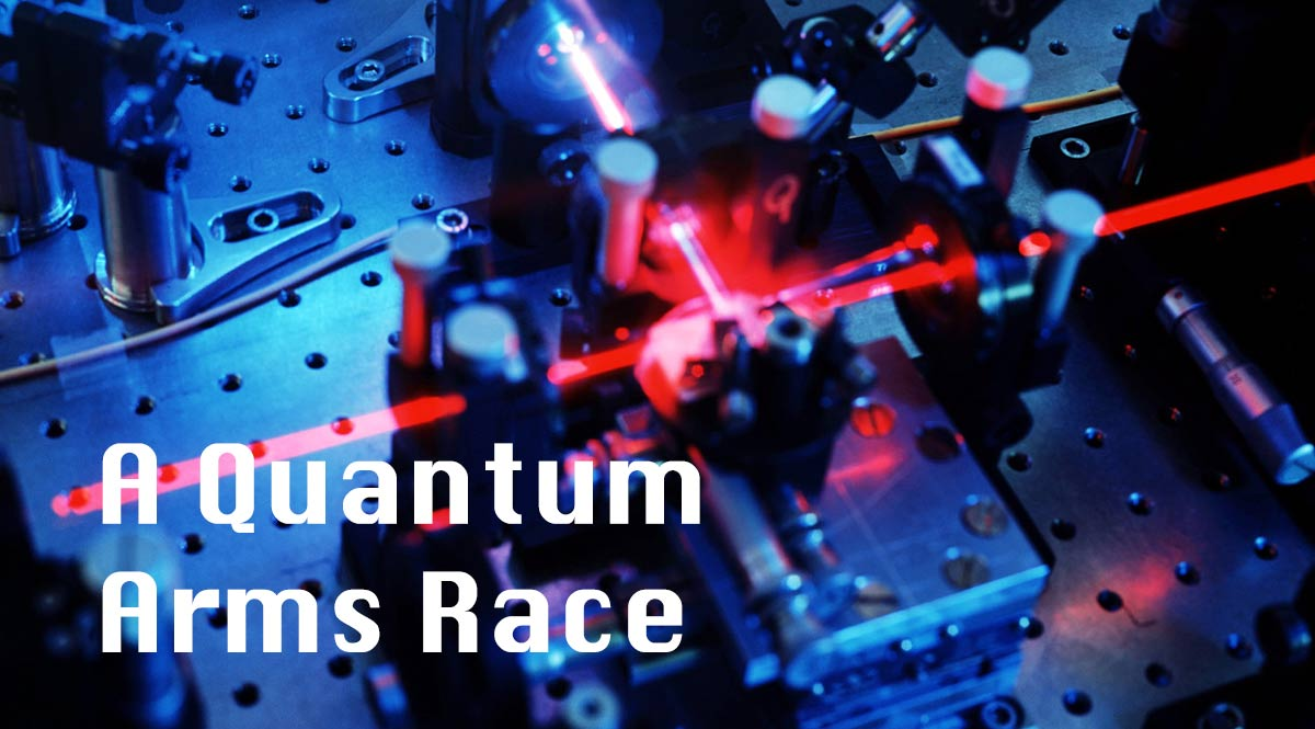 Tech from Singularity's Children—A Quantum Arms Race