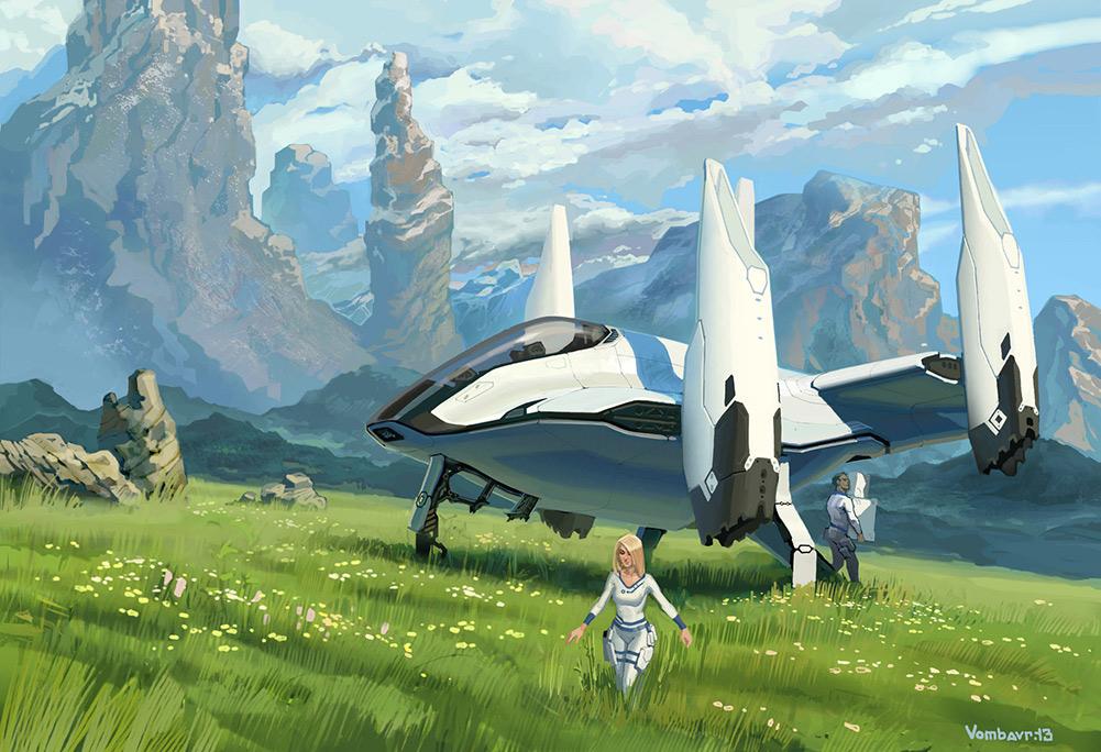 Sci-Fi Art Feature — Ivan Yakushev