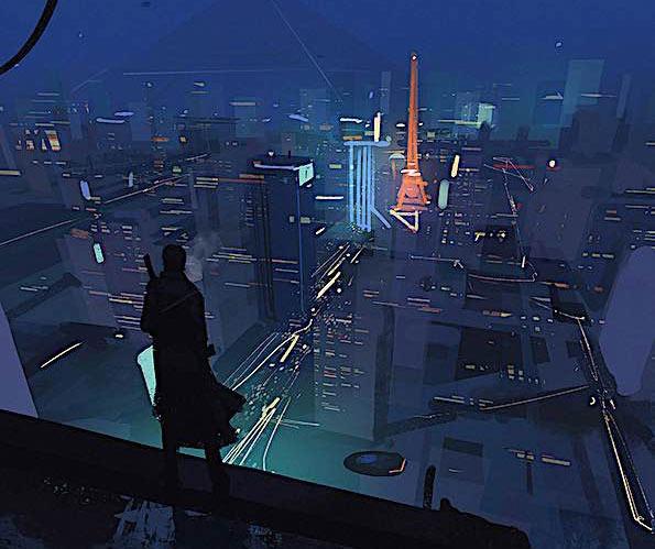 Sci-Fi Art Feature — Hideyoshi