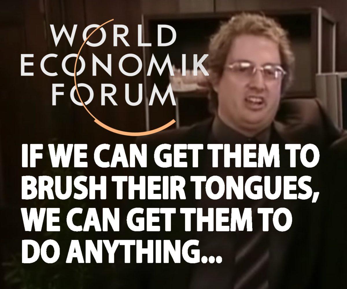 #BrushTheirTongues #GreatReset