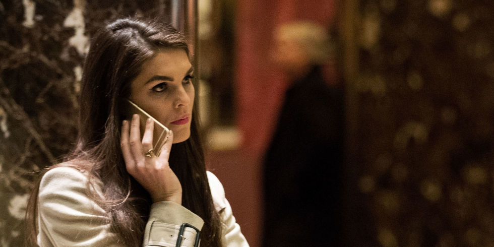 Image result for photo of Hope Hicks