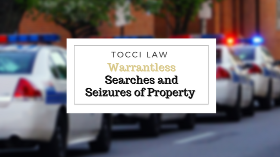 car trunk search and seizures