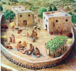 Public courtyard - 500BC
