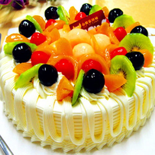 Deluxe Fruit Cake Delivery China To China With Love