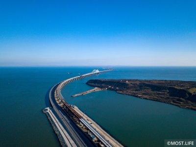 Крымскому мосту исполнился 1 год