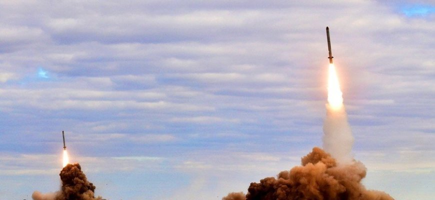 Пуск ракет миобороны РФ