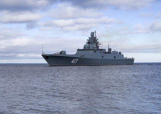 Фрегат «Адмирал Горшков» \ фото - минобороны РФ
