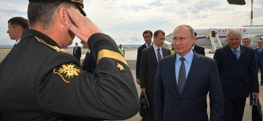 Путин прибыл во Францию\ фото - пресс-служба Кремля